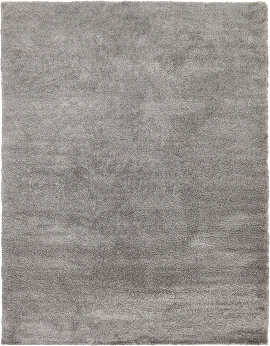 Gray 1239 2 X 1639 Luxe Solid Shag Rug Area Rugs Esalerugs