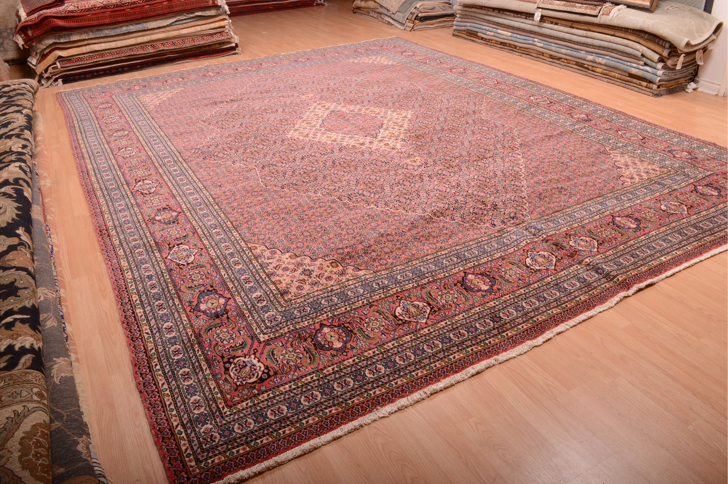 Carpet U2 Sarab Red Hand Knotted 11 10