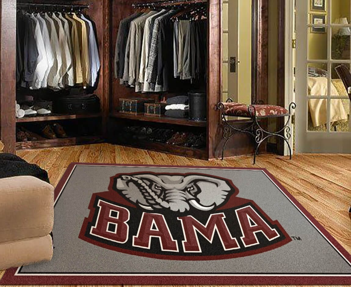 Dorm Room Carpet College Logo Rugs Buy Ncaa College Logo Rugs