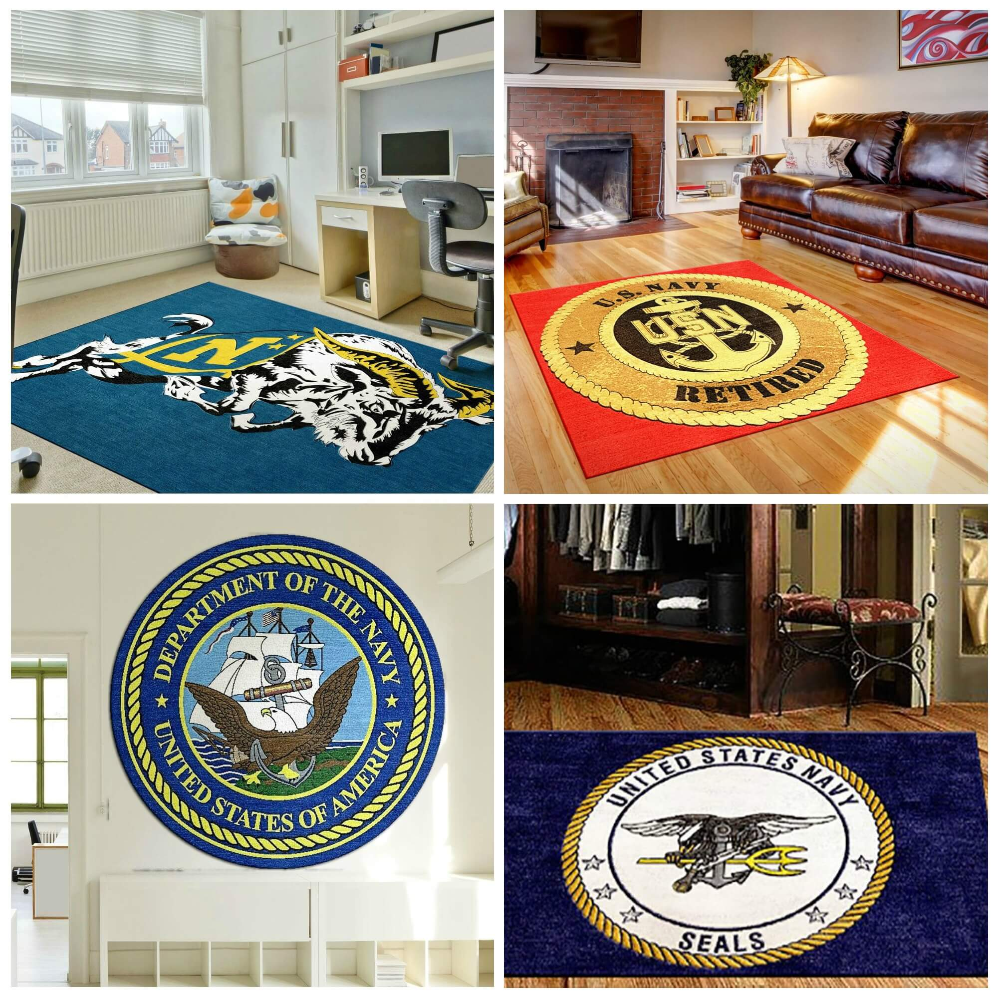 Chiefs Iphone Wallpaper Us Navy Logo Rugs Custom Navy Logo Mats Rug Rats