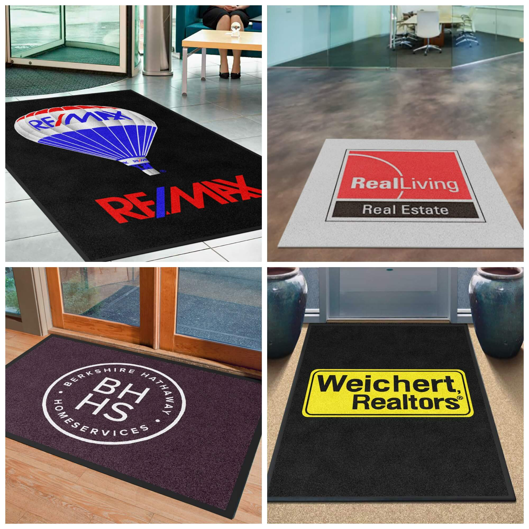 Personalized Real Estate Logo Rugs Will Make Your Office