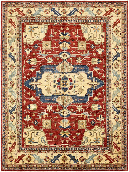Red 1239 3 X 1639 4 Kazak Rug Oriental Rugs Esalerugs