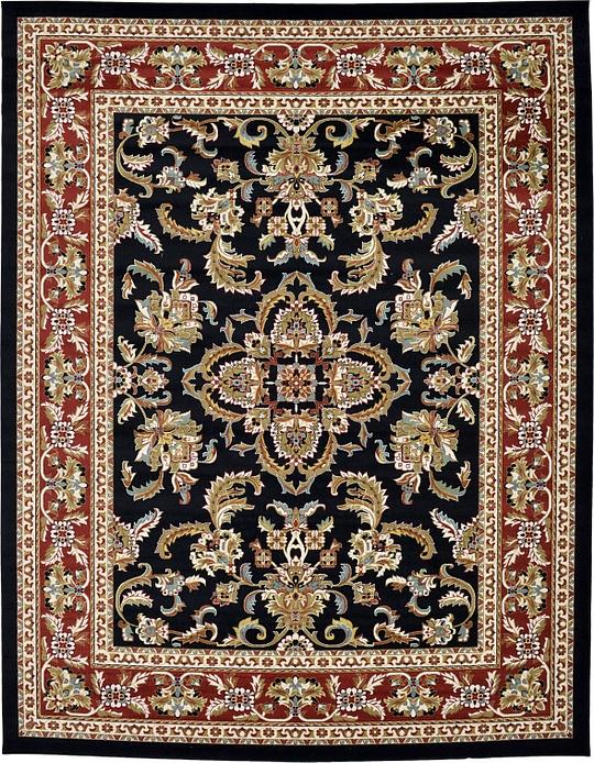 Black 1239 8 X 1639 5 Classic Agra Rug Area Rugs Esalerugs