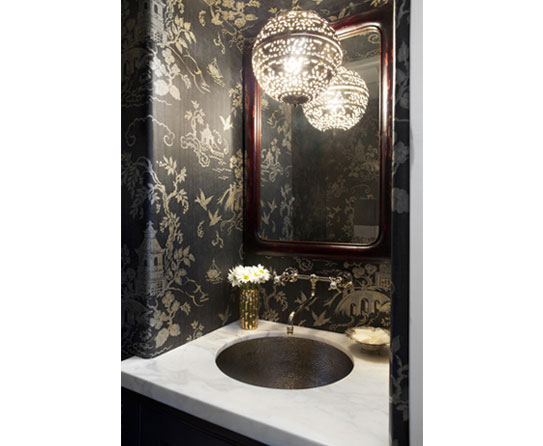 Lantern Bathroom Lighting Illuminate The Powder Room With Different Lighting Options