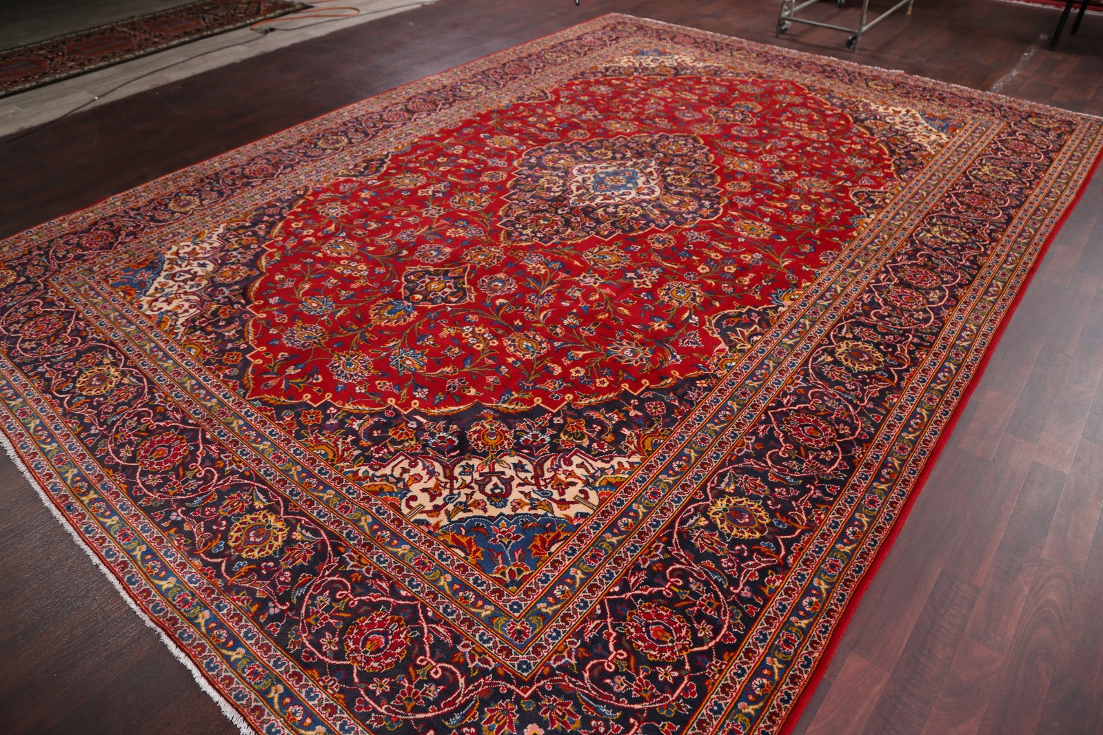 10 X 14 Area Rugs 10x14 Kashan Persian Area Rug