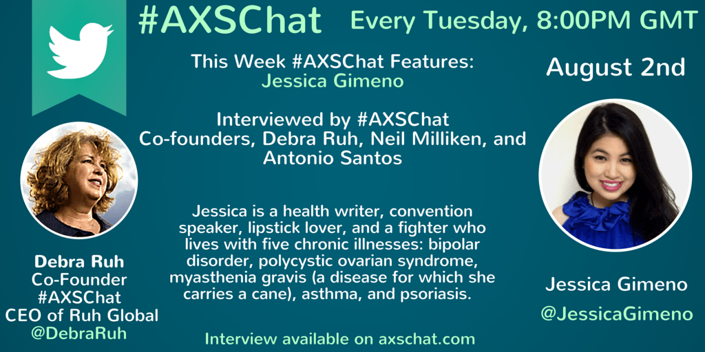 #AXSChat Website Slider- Jessica Gimeno