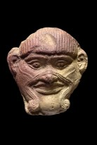 Maske des Dämons Humbaba, Sippar, altbabylonisch, 20. - 17. Jh. V. Chr. © Royal Museums of Art and History, Brüssel