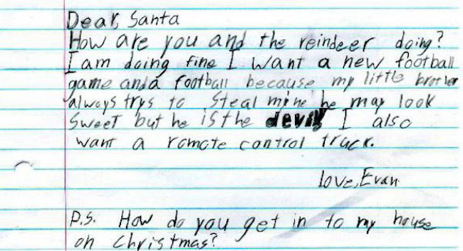 Tis The Season For These Very Funny Letters To Santa