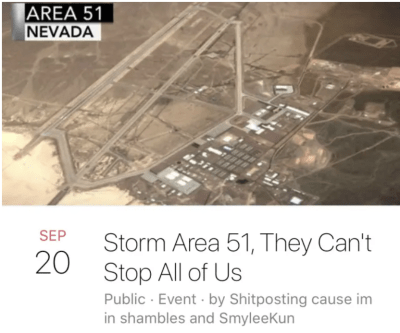 Just 25 Of The Funniest 'Storm Area 51' Memes