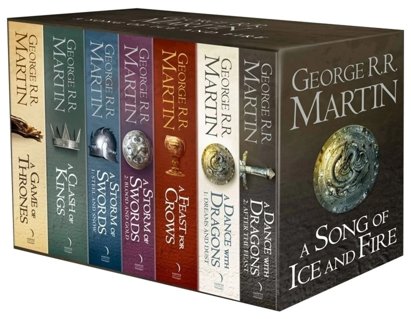 Juego De Tronos Libro 6 Game Of Thrones The Story Continues 7 Book Boxset Buy