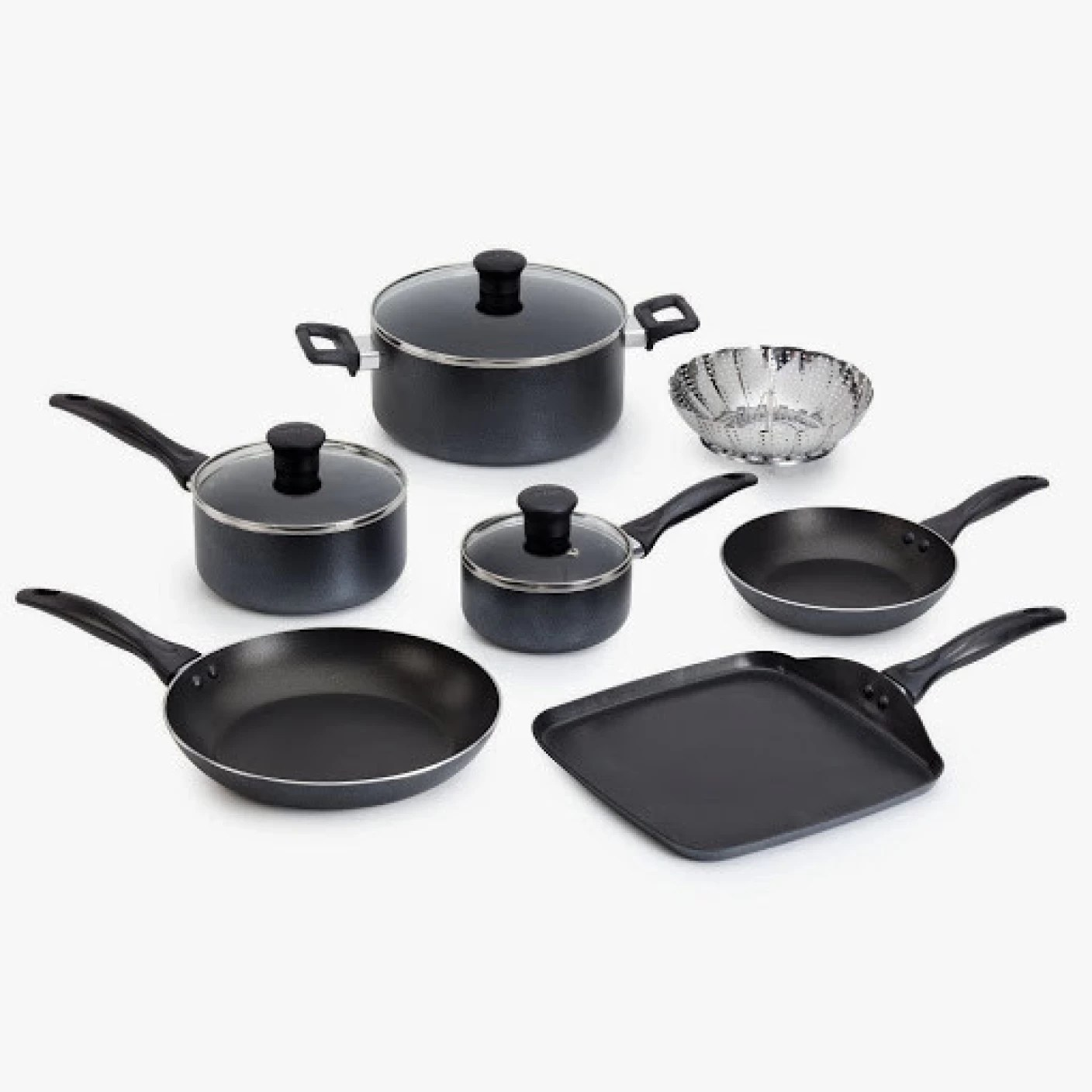 Tefal Pan Set Tefal Delight Cookware Set Price In India Buy Tefal