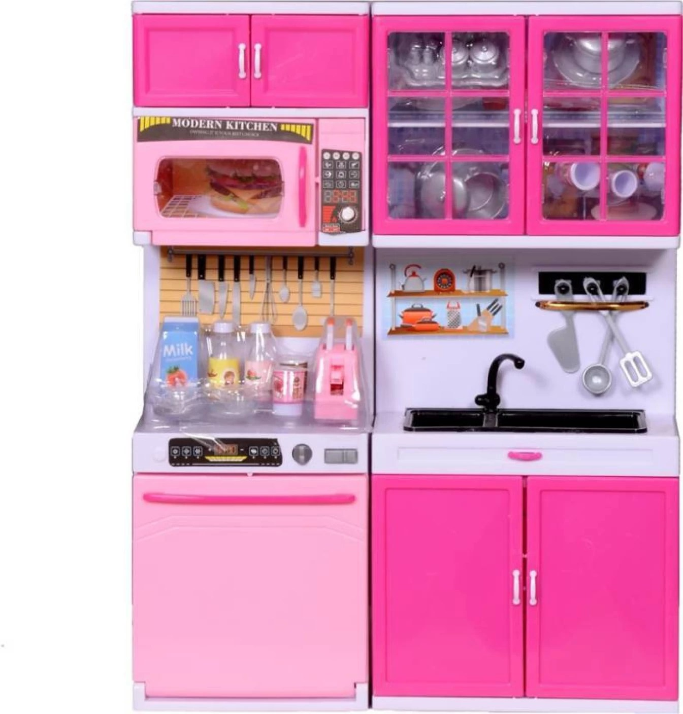 Modern Kitchen Battery Operated Modern Kitchen Barbie Swing Kitchen