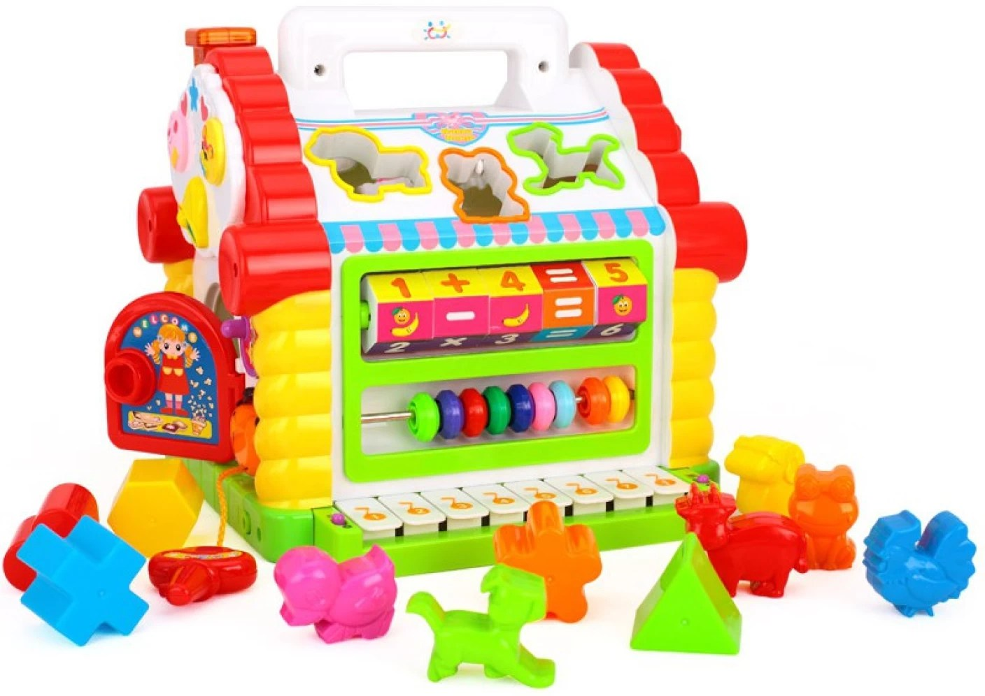 Goappugo Learning House With Piano Baby Birthday Gift