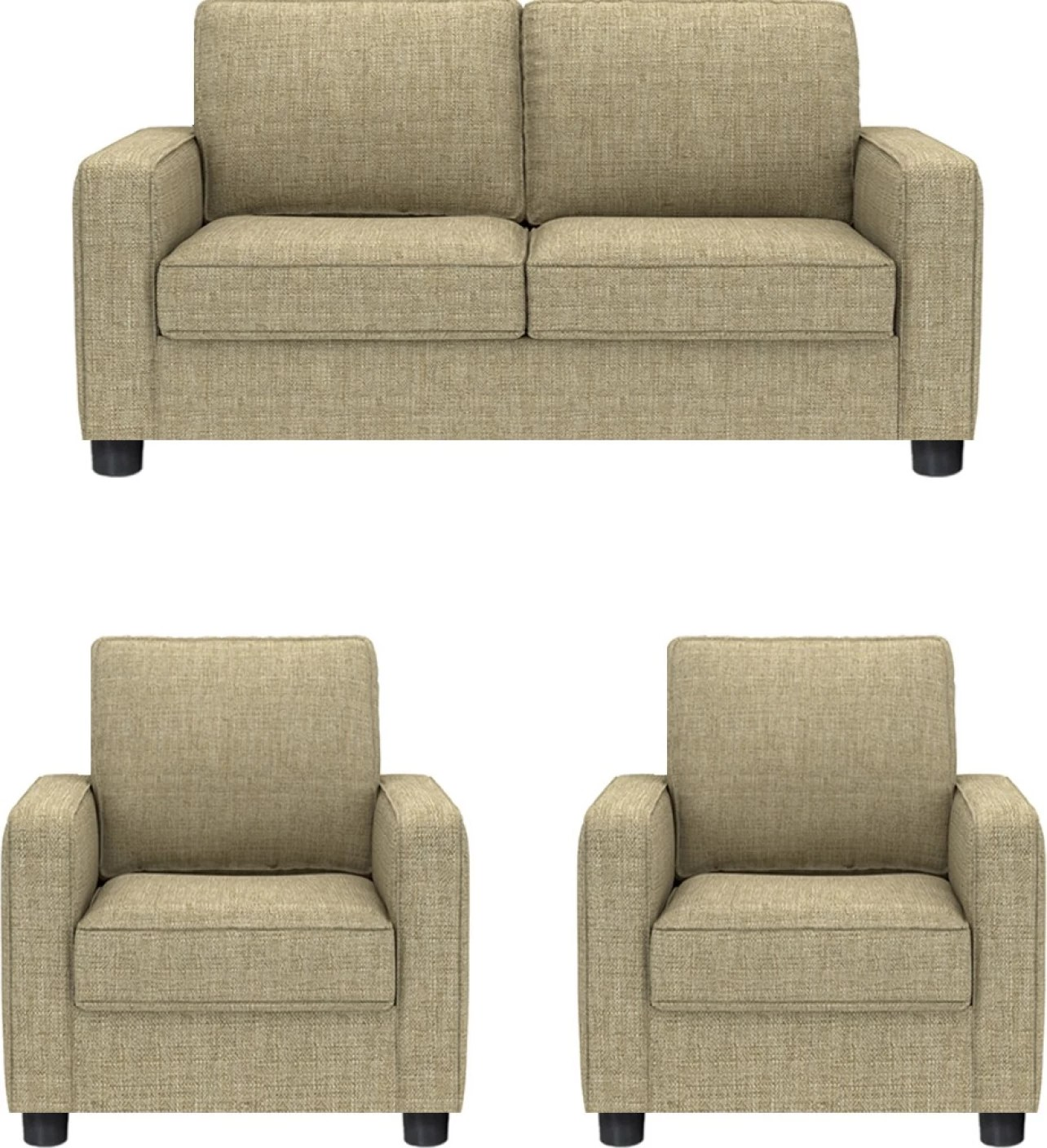 Sofa Set Price Haldwani Gioteak Fabric 2 43 1 43 1 Beige Sofa Set Price In India