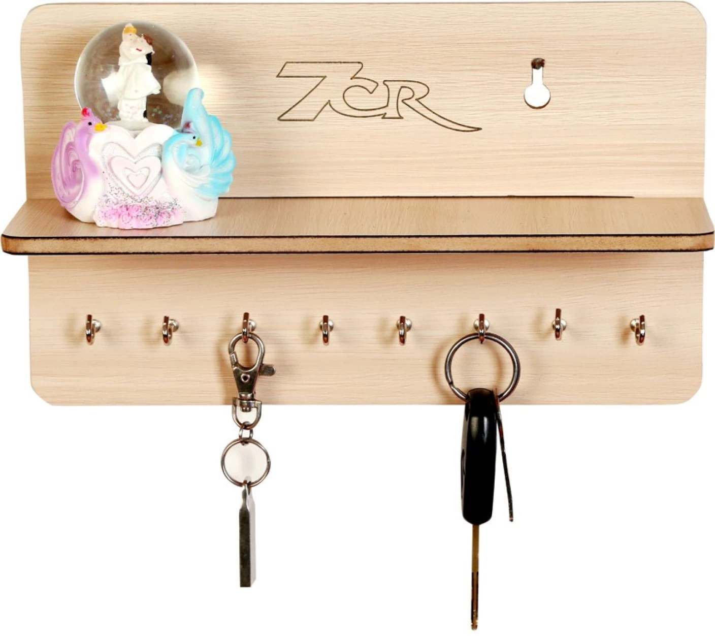 Wooden Key Holder With Shelf 7cr F Shelf Wooden Key Holder Price In India Buy 7cr F
