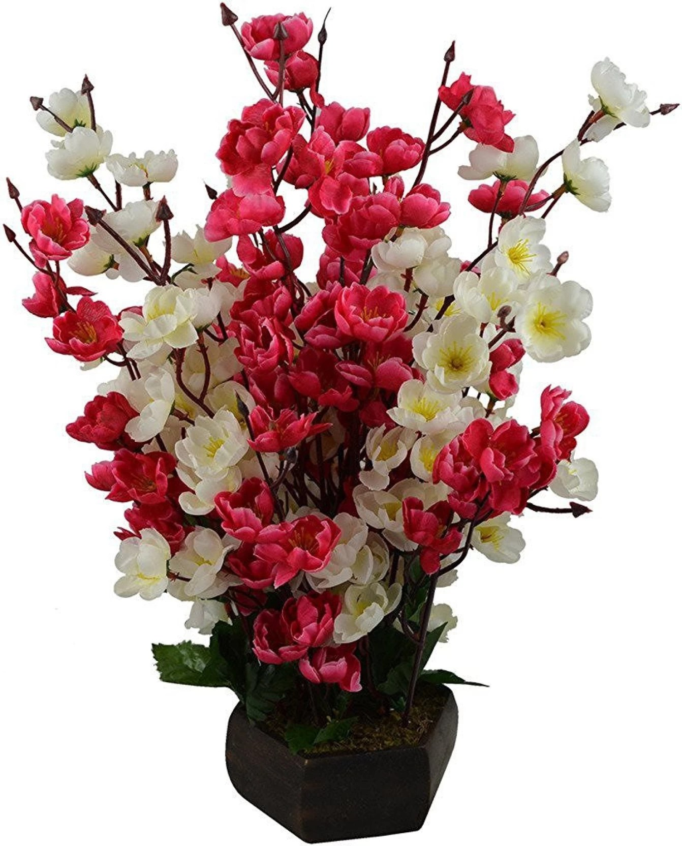 White Flower Pots For Sale Hyperbole Red White Assorted Artificial Flower With Pot