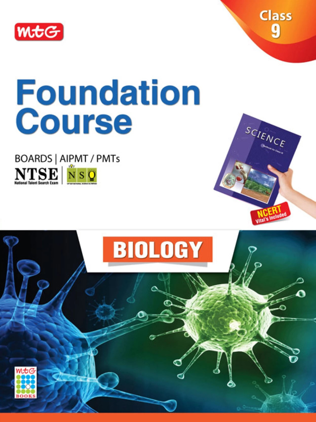 Mtg Online Shop Mtg Foundation Course Boards Aipmt Pmts Ntse Biology Class 9 1st Edition