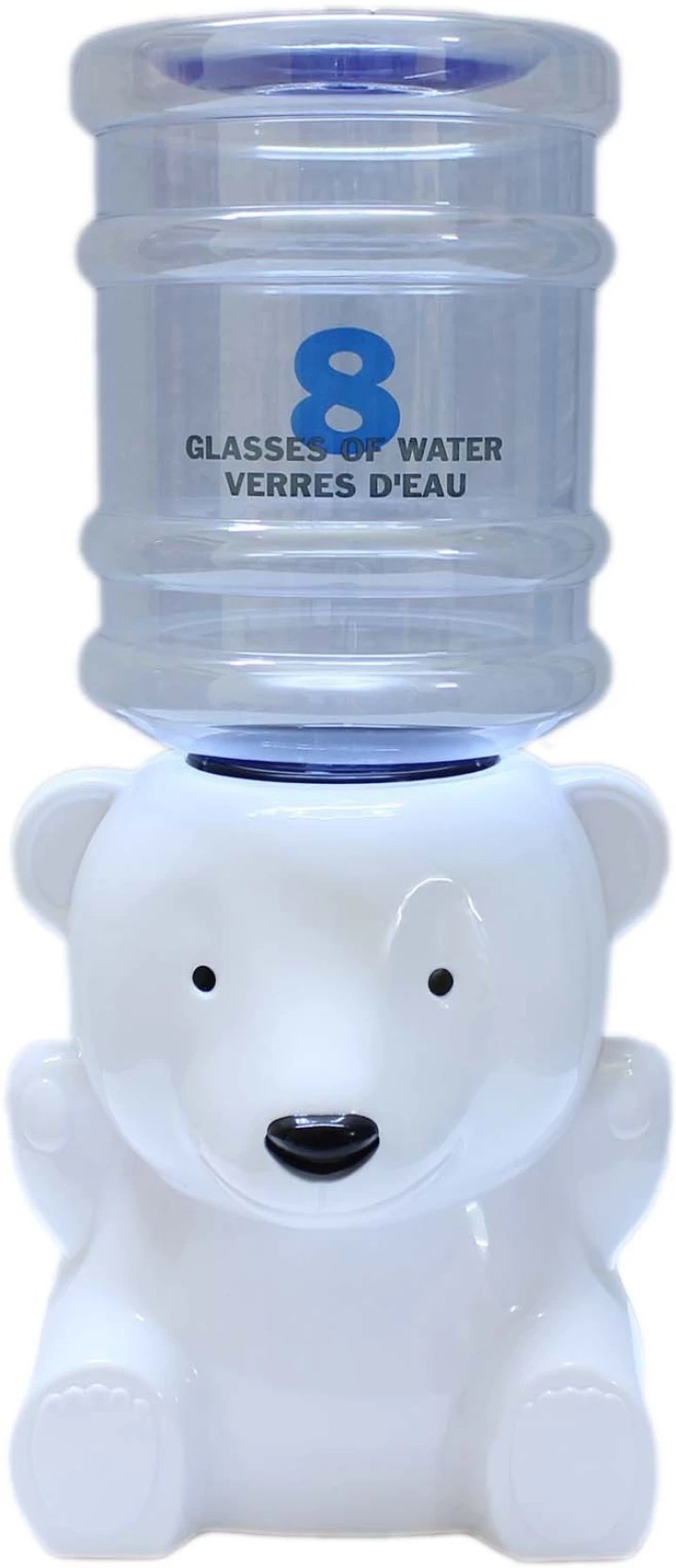 Mini Water Dispenser Tootpado Mini Water Dispenser For Kids 8 Glasses Polar Bear