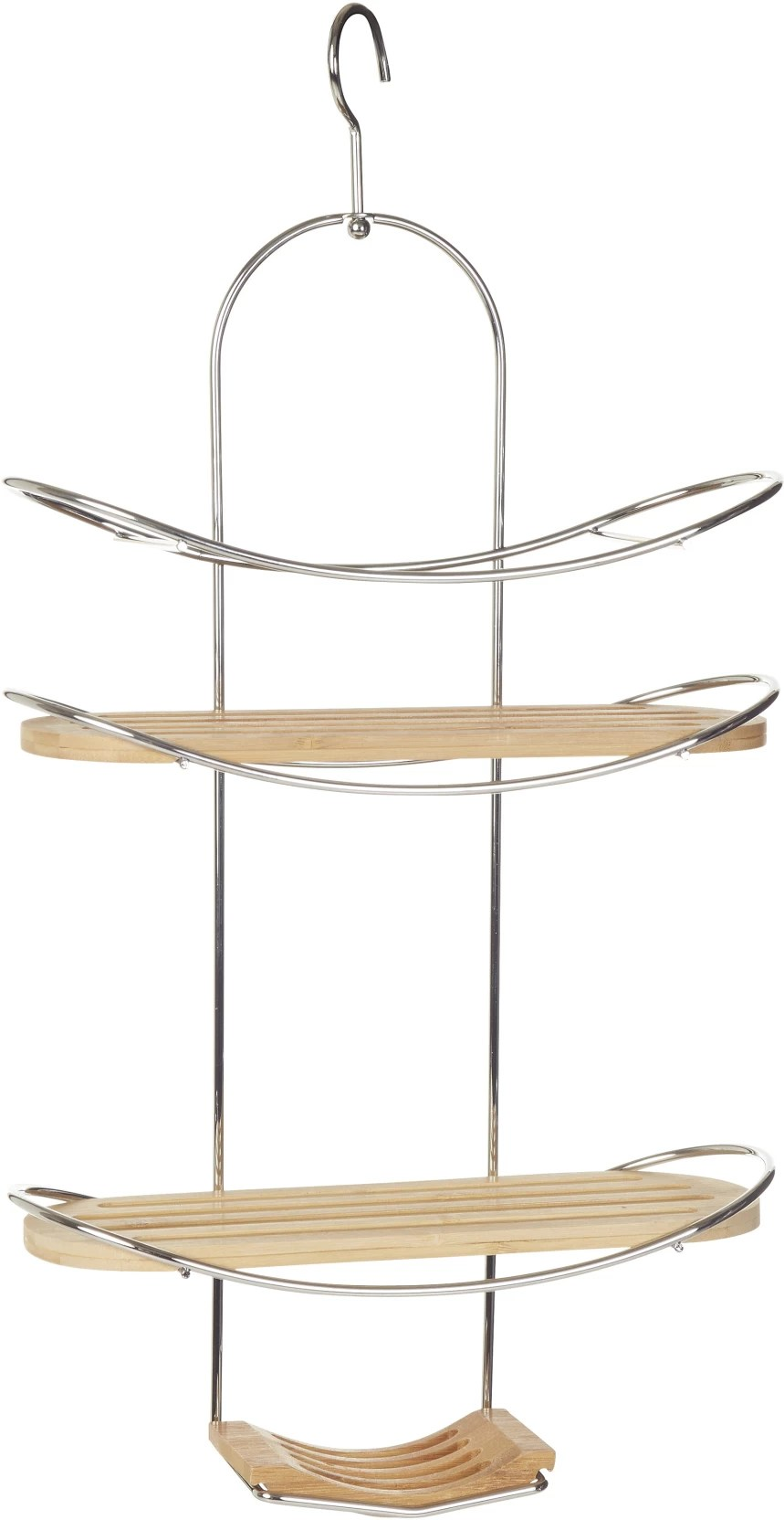 Interio Sofa Caddy Howards Shower Caddy Chrome Wooden Wall Shelf Price In India