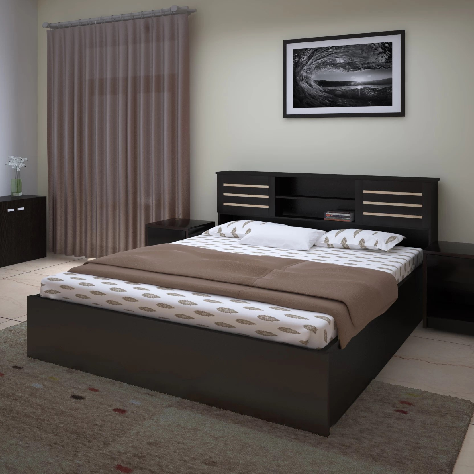 Single Bed Price Perfect Homes By Flipkart Waltz Queen Bed With Storage