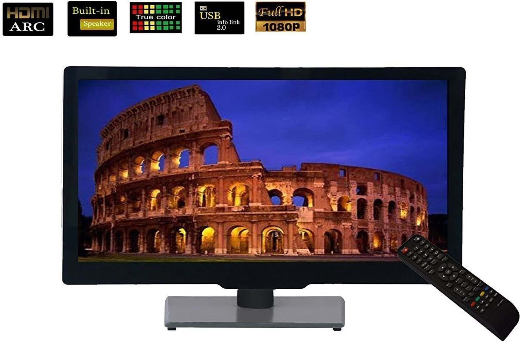 60cm Tv Hi Tech 60cm 24 Inch Hd Ready Led Tv