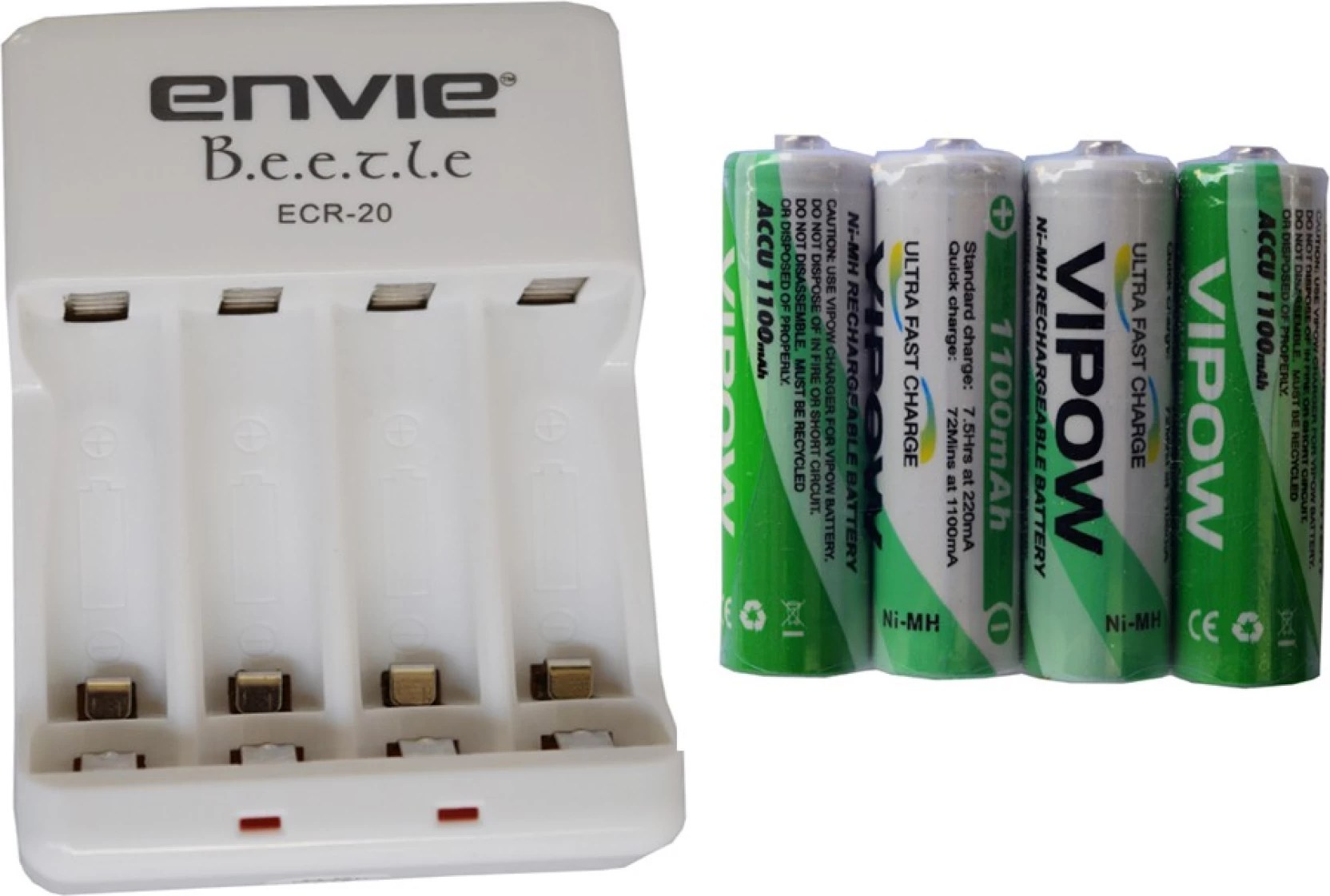 Accu Rechargeable Creator Envie For 2 4 Aa Aaa Batteries Charger Vipow Aa Accu 1100