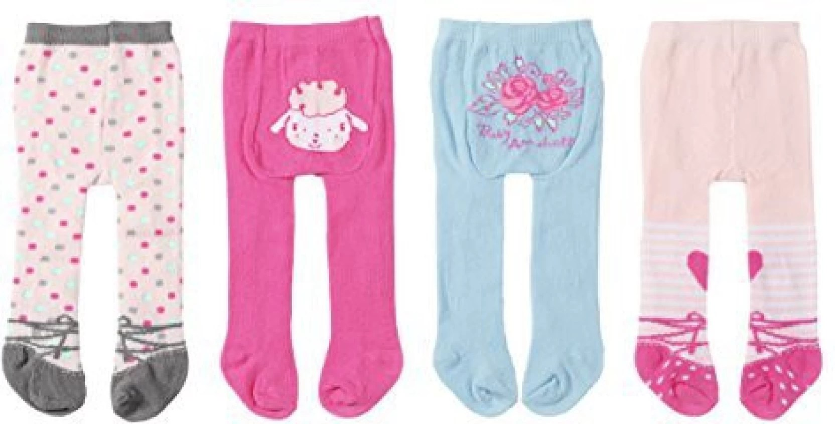 2er Set Zapf Creation Baby Annabell Tights 794586 2er Set 2 Assorted