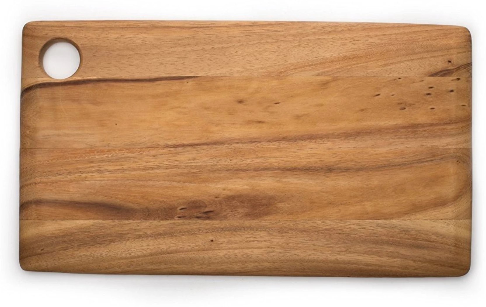 Acacia Bois Bois Art Acacia Wooden Cutting Board With A Hole To Hang Wooden Chopping Board Wooden Multipurpose Serving Tray 18 X 10 In Wooden Cutting Board