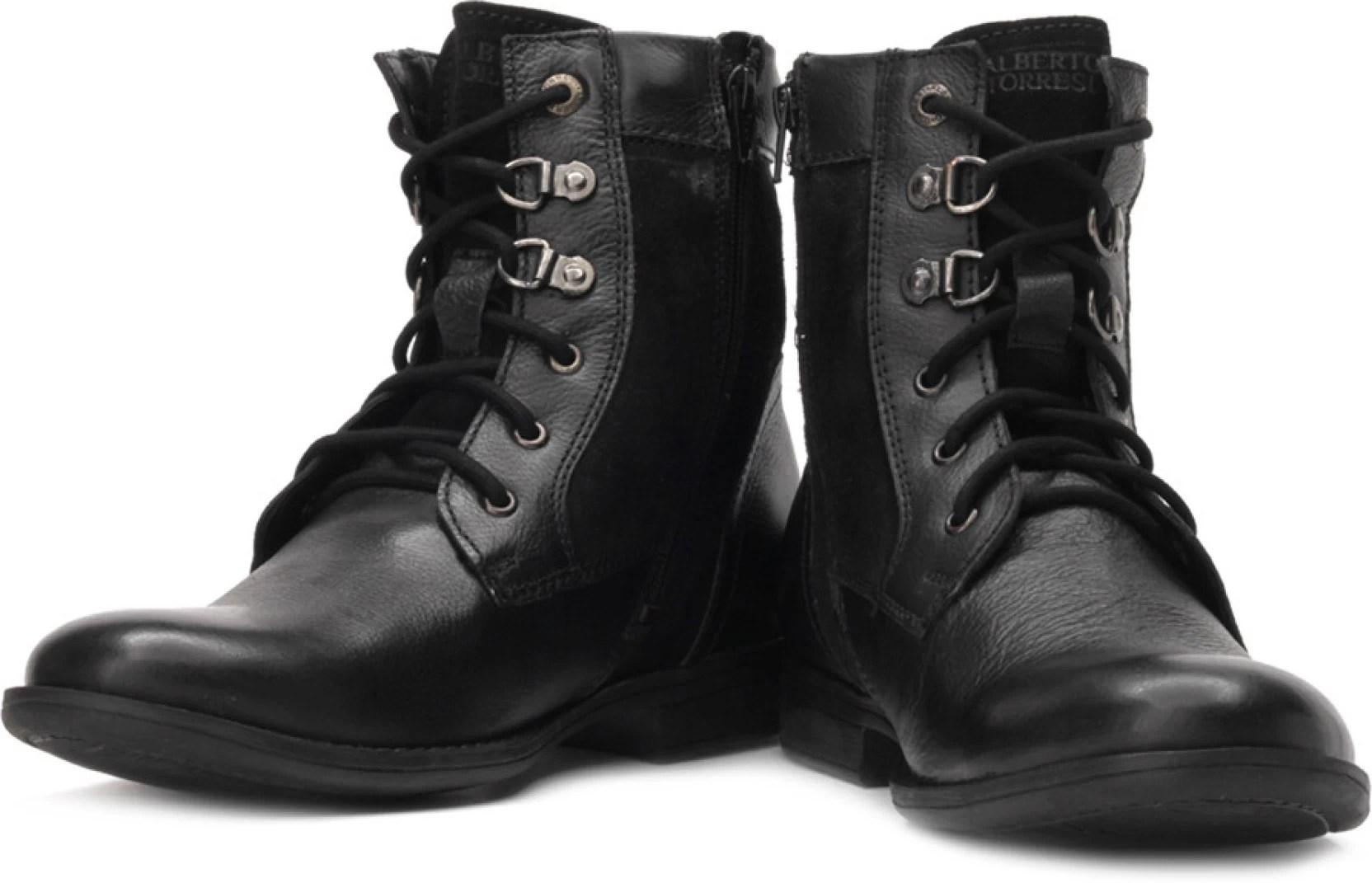 Alberto Torresi Boots Buy Black Color Alberto Torresi