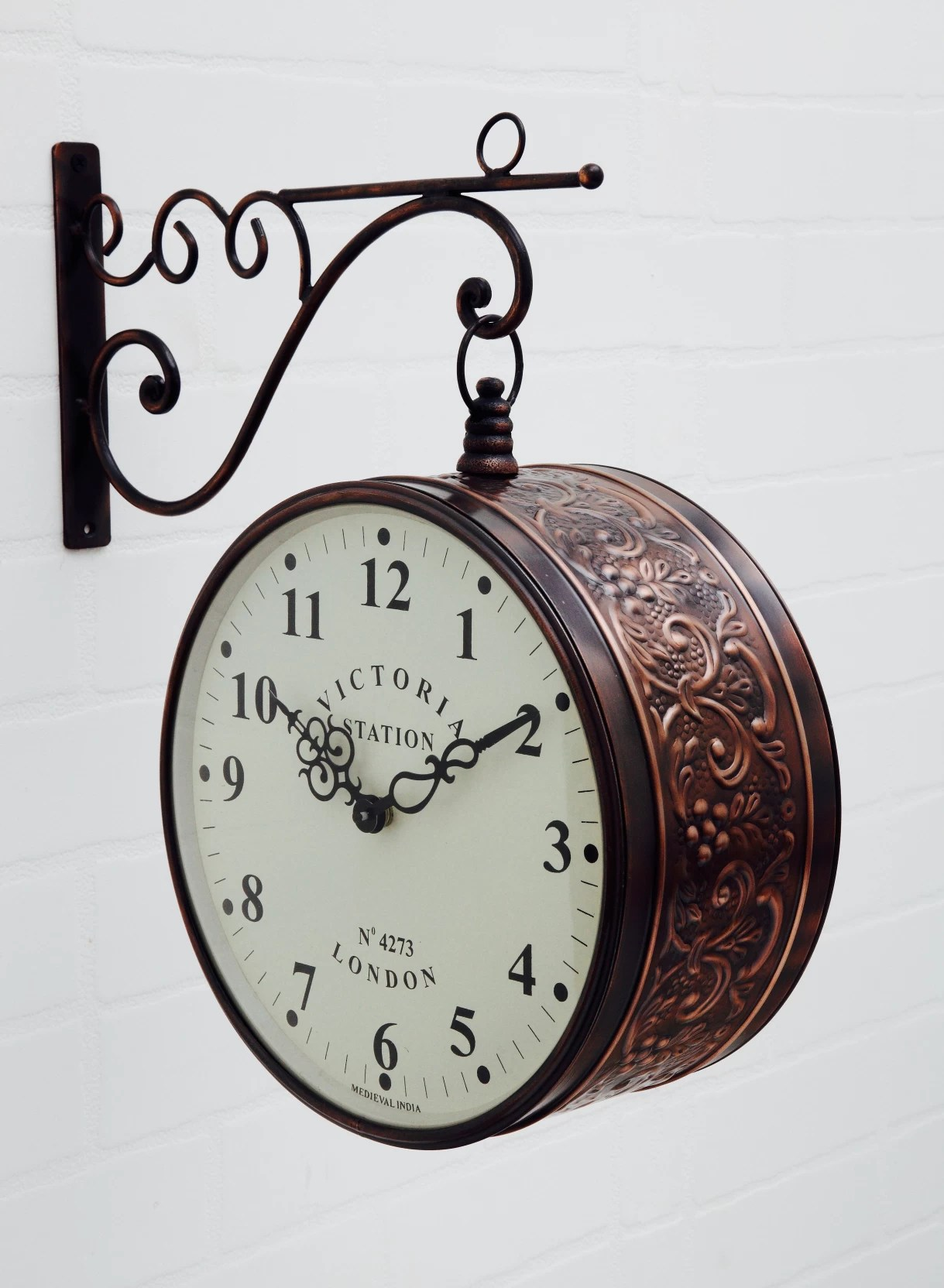 Online Analog Clock Medieval India Analog Wall Clock Price In India Buy Medieval India