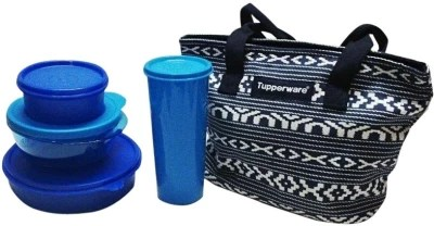 Buy Tupperware True Blue 4 Containers Lunch Box1650 Ml