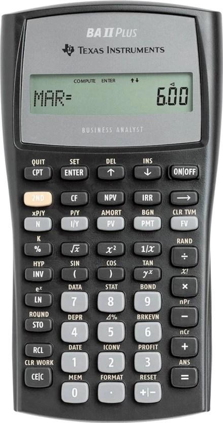 Flipkart.com | Texas Instruments BA II Plus Financial Calculator - Financial