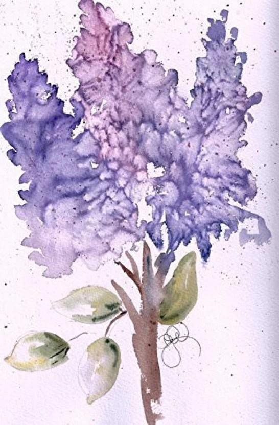 purple note cards - Gurekubkireklamowe