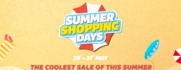 Flipkart Summer Shopping Days- Get Huge Discounts from 29-31st May and 25% Cashback with Phonepe