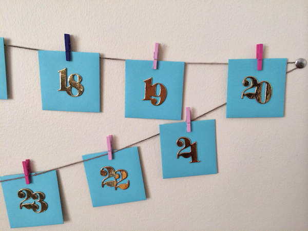 DIY Advent Calendar: 25 Reasons I Love You