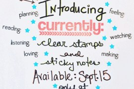 rukristin currently list clear stamps and sticky notes