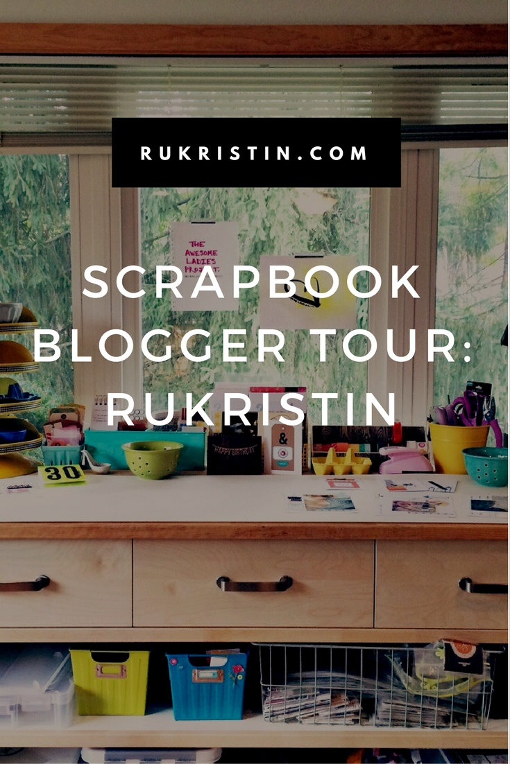scrapbook blogger tour: rukristin