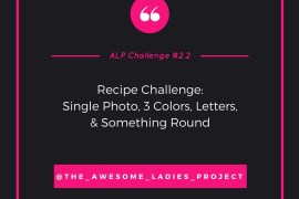 rukristin Awesome Ladies Project 2.2 Recipe Challenge