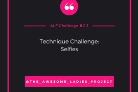rukristin Awesome Ladies Scrapbook Challenge 2.3 Selfies