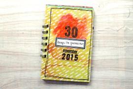 30 Days of Grateful Journal | Katie for rukristin