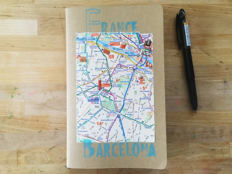 traveling through europe and documenting on the go