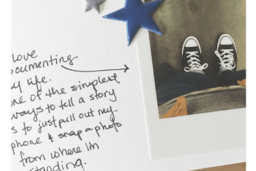 shoe selfies diy scrapbook tutorial