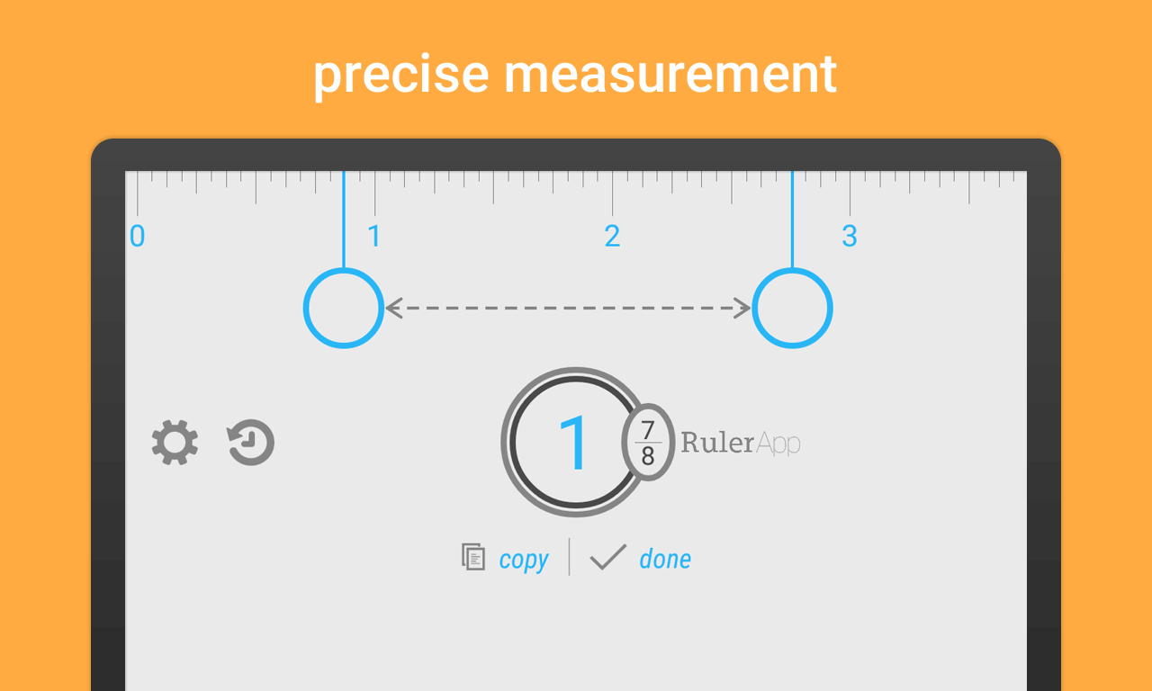 Ich Cm Ruler App For Android Measure Length With Your Phone