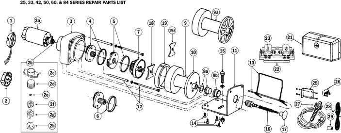 rule winch wiring diagrams