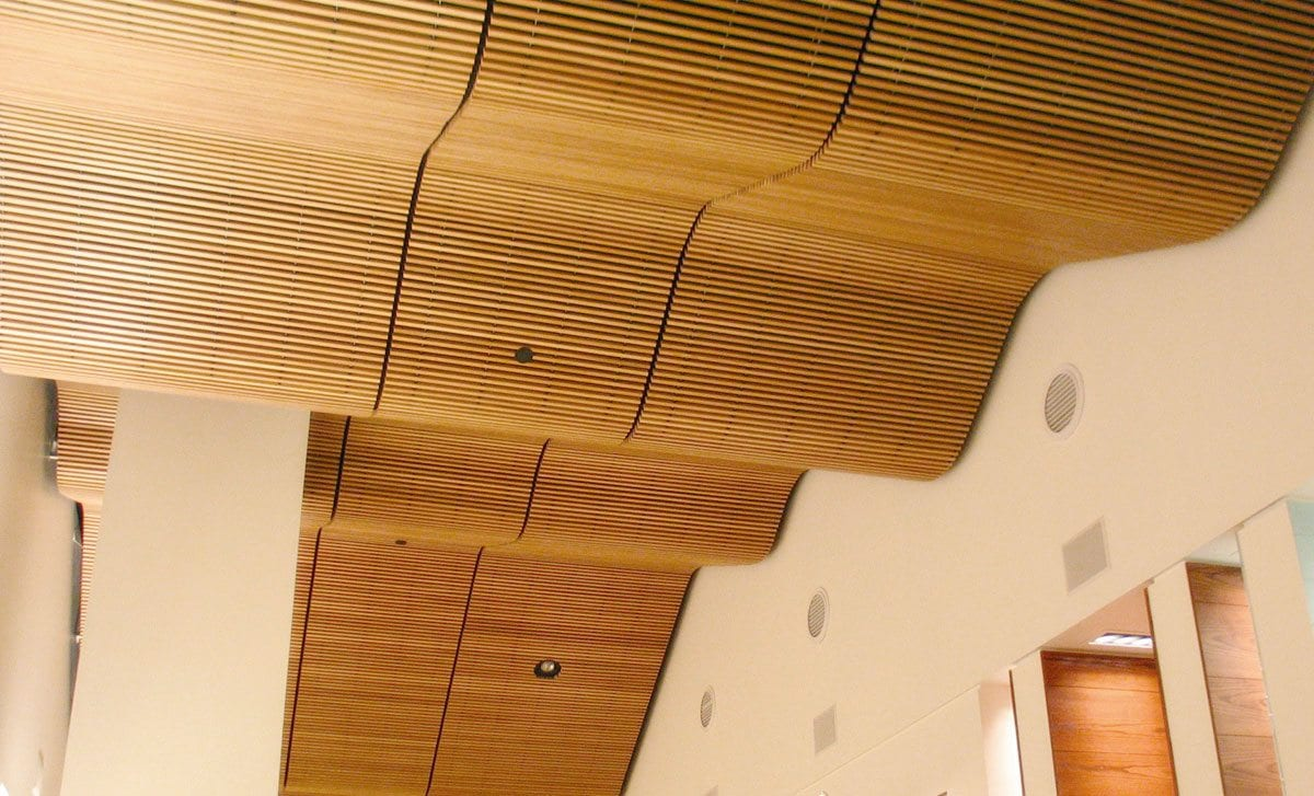Vertical Wood Slat Wall Panel Grille Rulon International