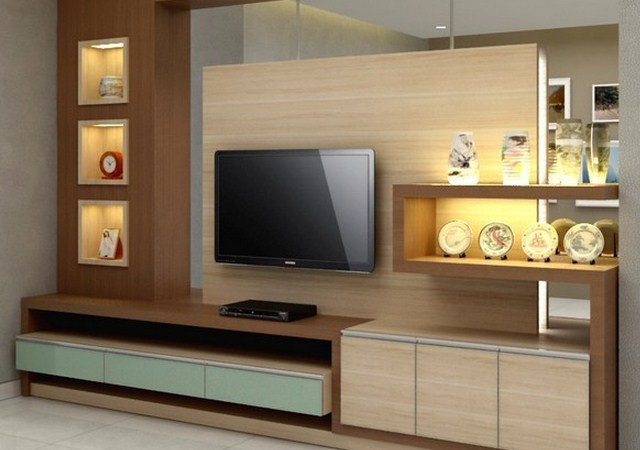 Rak Tv Olimpic Rak Tv Minimalis Modern - Furniture Rumah (1930)