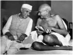Mahatma Gandhi And Nehru