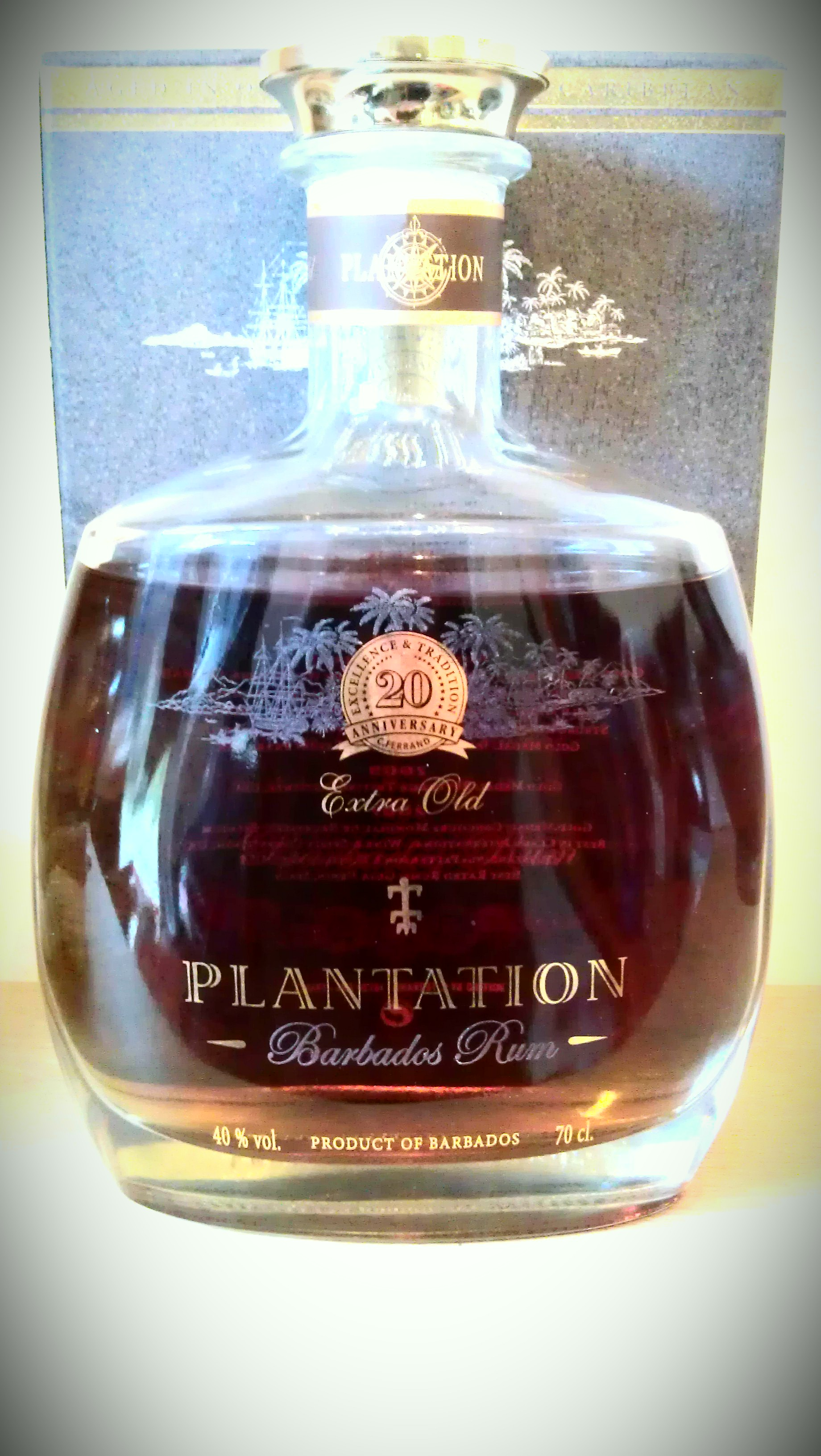 Plantation Barbados Extra Old 20th Anniversary Rum Plantation Extra Old 20th Anniversary Barbados Rum Rum