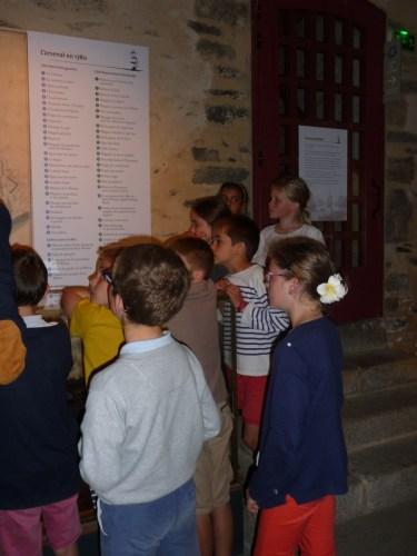 Les élèves de CM1 en visite au musée de la marine de Brest