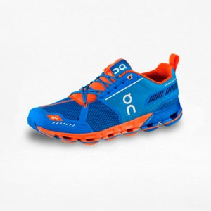 Tenis On Cloudflyer Azul/Naranja Hombre - Run4You.mx